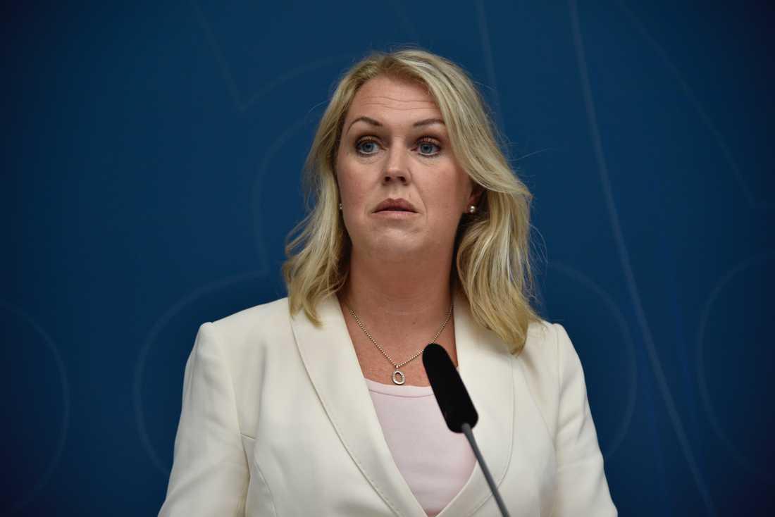 Socialminister Lena Hallengren (S). Arkivbild.