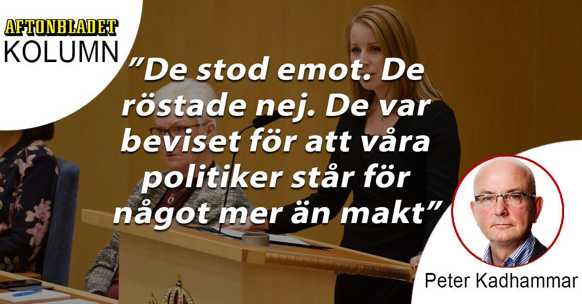 Lööf och Björklund är beviset för att våra politiker står för något