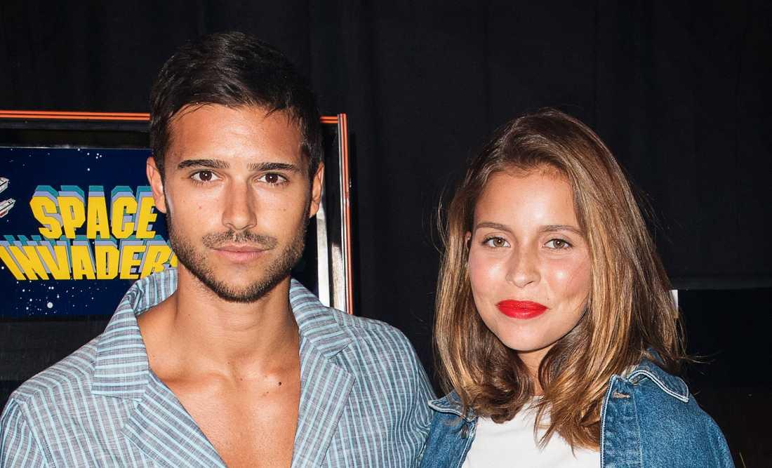 Eric Saade och Nicole Falciani.