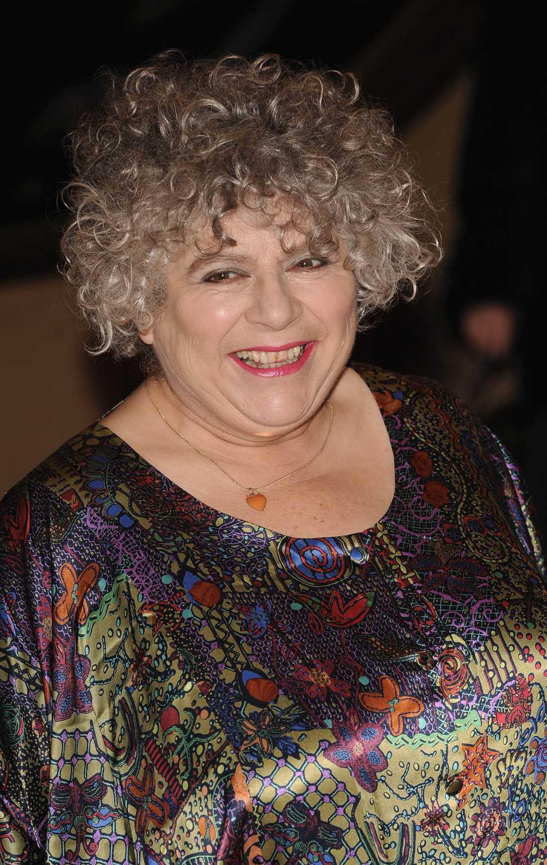 Skådespelaren Miriam Margolyes.