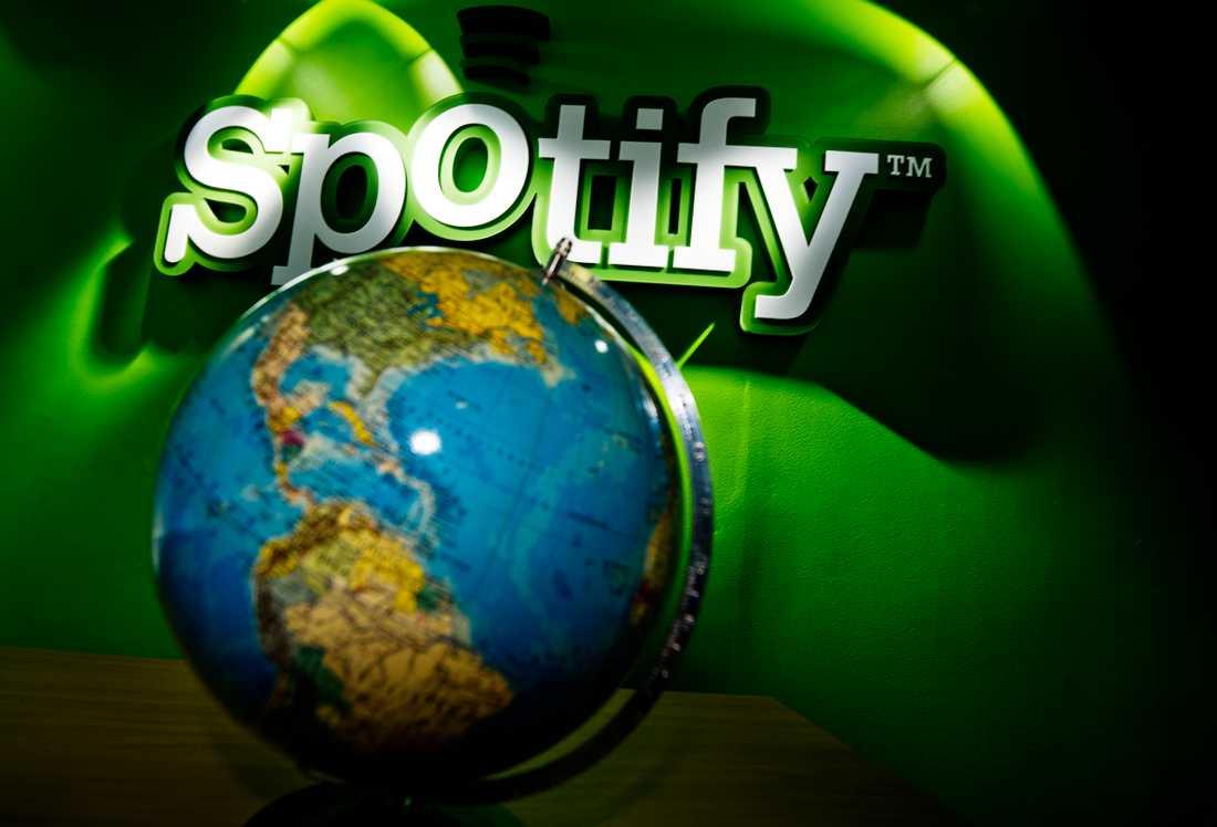 Spotify anklagas för fusk