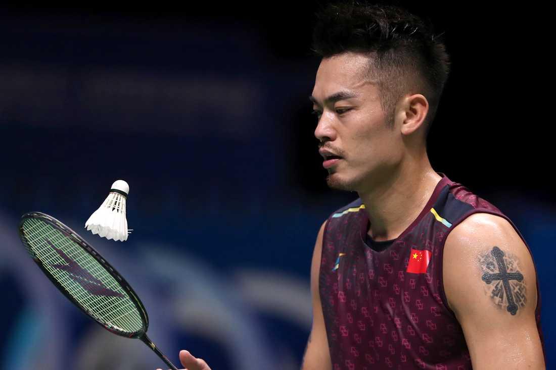 Kinesiske badmintonlegendaren Lin Dan lägger av. Arkivbild