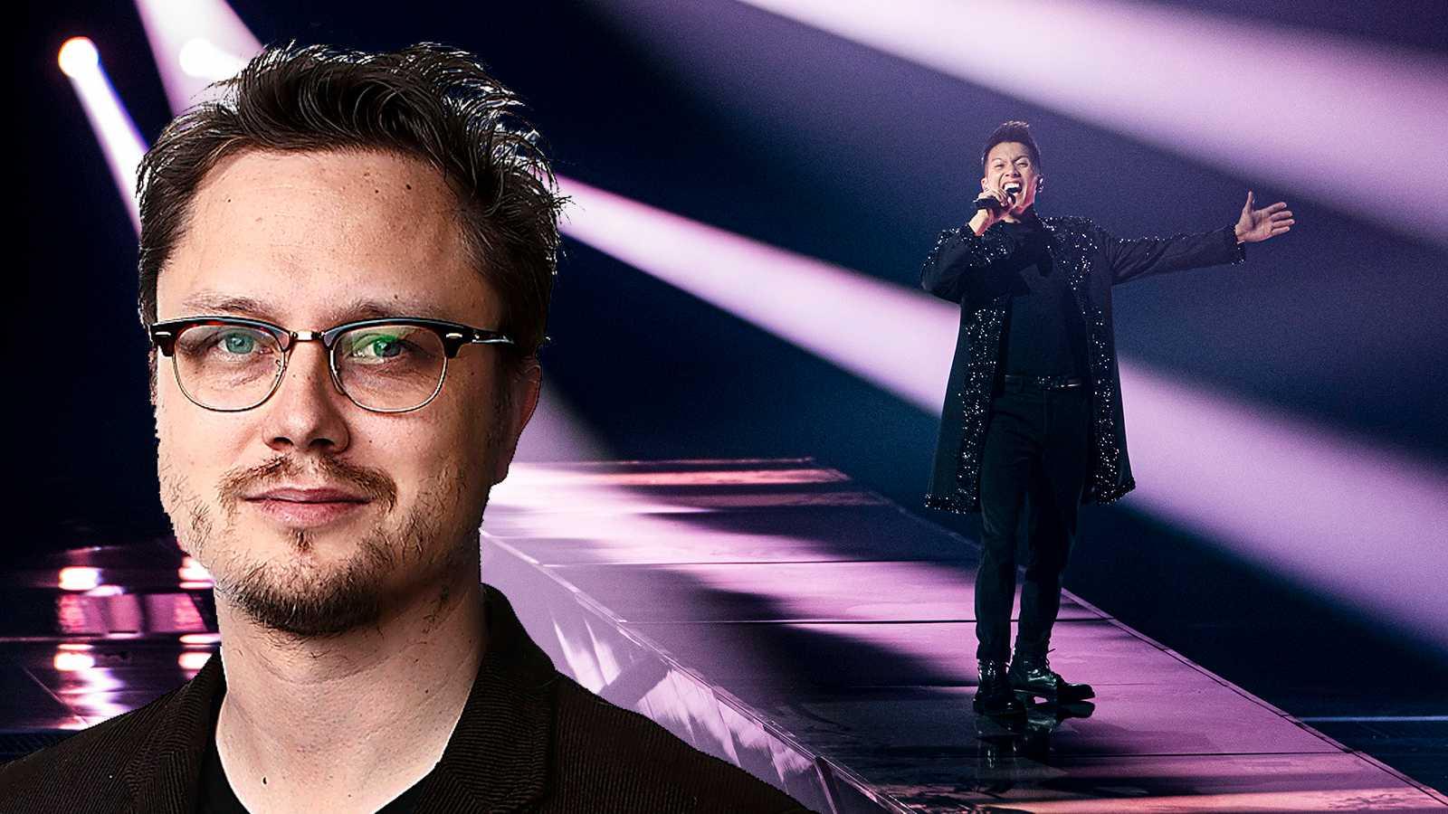 Så var andra Eurovision-semin minut för minut