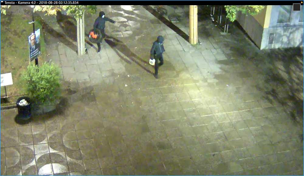 Attentatsmännen fångade på övervakningsfilm.