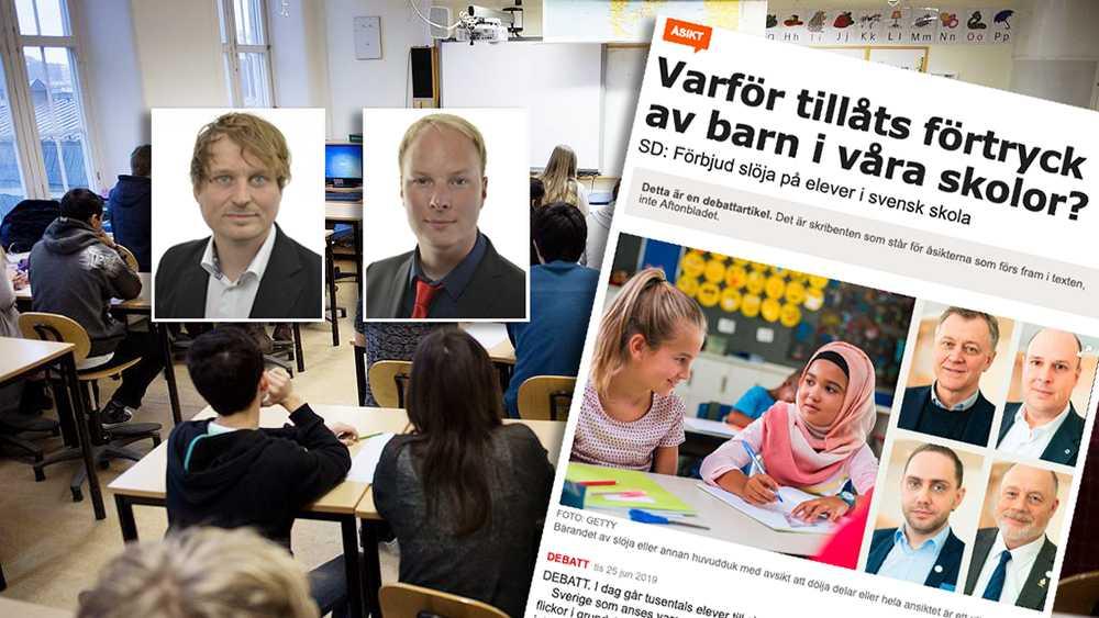Dagens verklighet där elever sorteras efter klass, religion eller andra mekanismer måste bekämpas, skriver Mattias Vepsä och Anders Österberg (S).