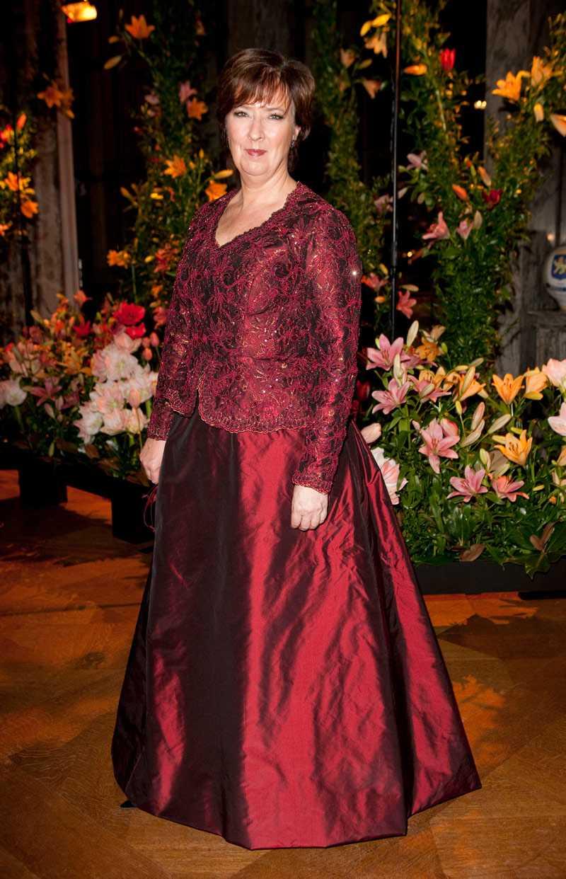 +++ Välsydd och diskret Mona Sahlin, partiledare (S) Den är fin, välsydd och diskret. Thaisiden med broderad spets. En värdig klänning på en vuxen kvinna.