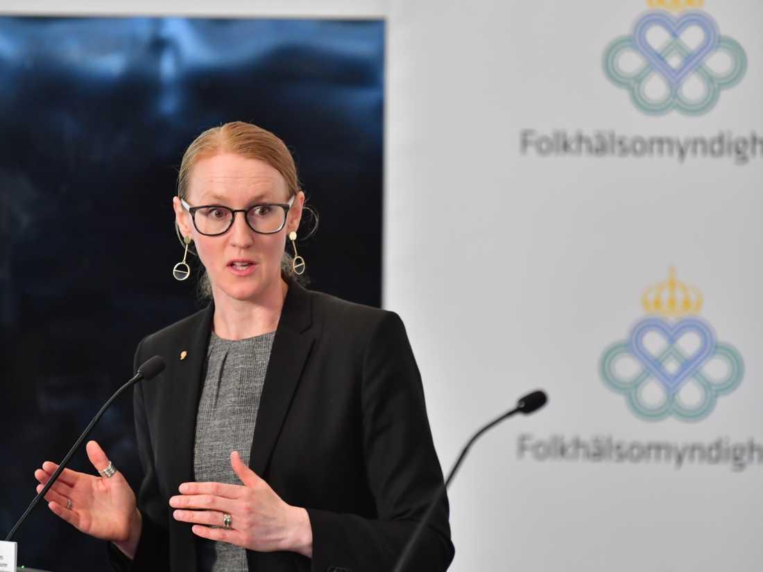 Emma Spak, sektionschef för hälso- och sjukvård på SKR, tror att det kan dröja flera veckor innan målet om 100000 tester i veckan nås.