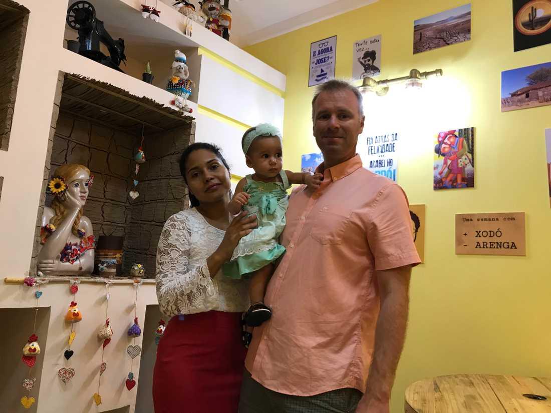 Familjen de Souza Holmström splittrades av Migrationsverkets beslut.
