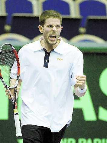 Andreas Vinciguerra var nära att bli en stor svensk Davis Cup-hjälte i går.