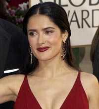 Salma Hayek kan vinna en Oscar för sin roll i Frida.