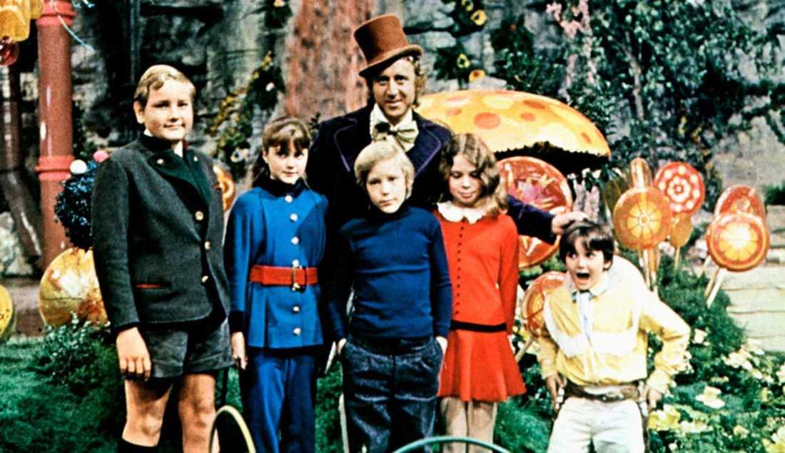 """I filmen """"Willy Wonka och chokladfabriken"""" från 1971 spelade Gene Wilder huvudrollen."""