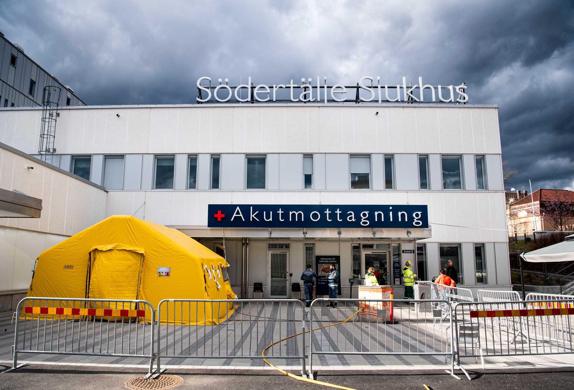 Sjukhus hotas med vite efter covidsmitta