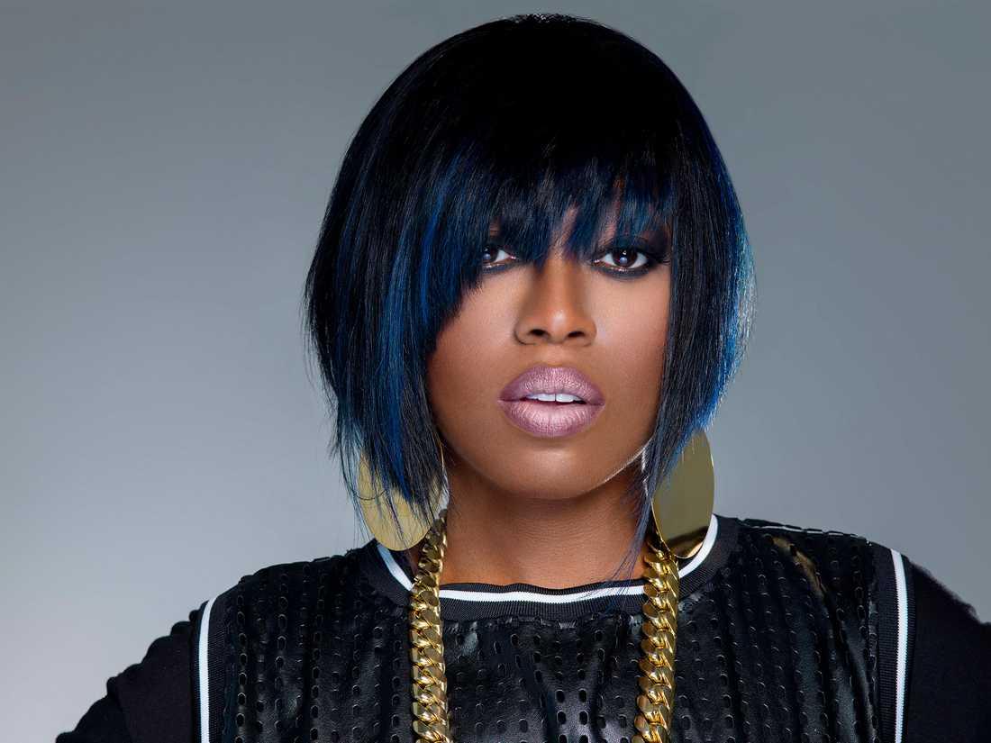 Rapparen Missy Elliott är aktuell med sin första låt på sju år.