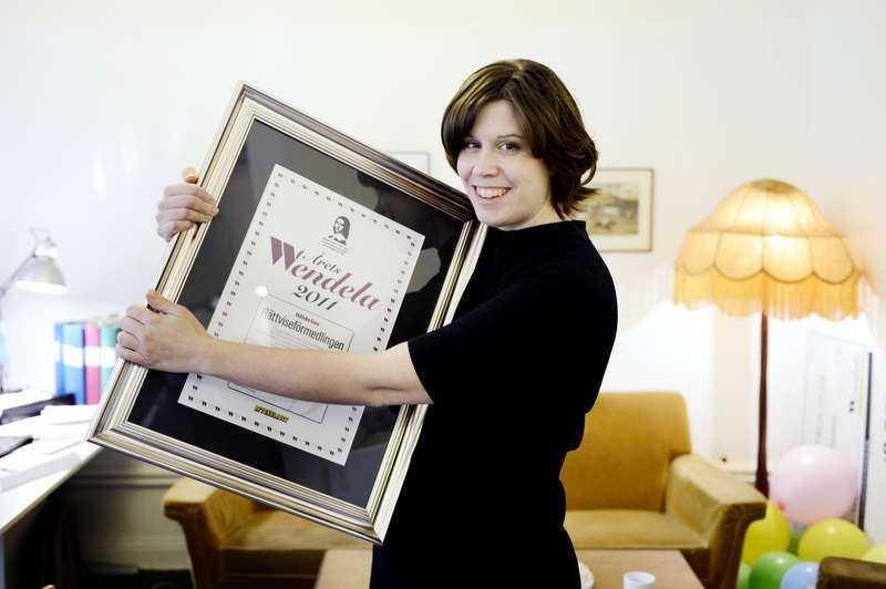 2011 vann Rättviseförmedlingen Årets Wendela. Sofia Embrén hoppas att de ska kunna lägga ner på grund av arbetsbrist 2020.