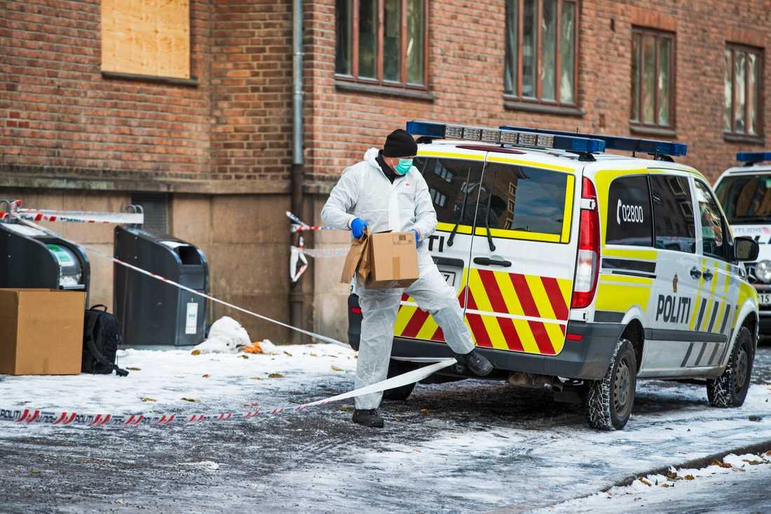 Mannen hittades i Oslo.