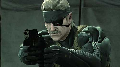 Metal Gear Solid 4.