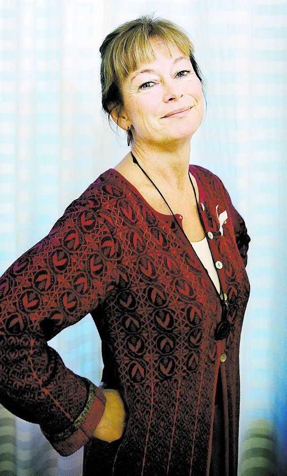 Lena Adelsohn Liljeroth, kulturminister.