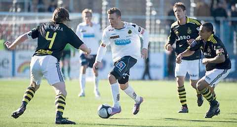 Gerndt var aldrig ordinarie i AIK. I går kom hämnden…