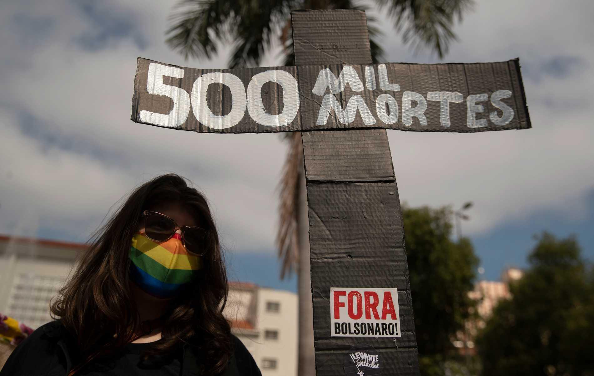 Jair Bolsonaro beskylls för folkmord.