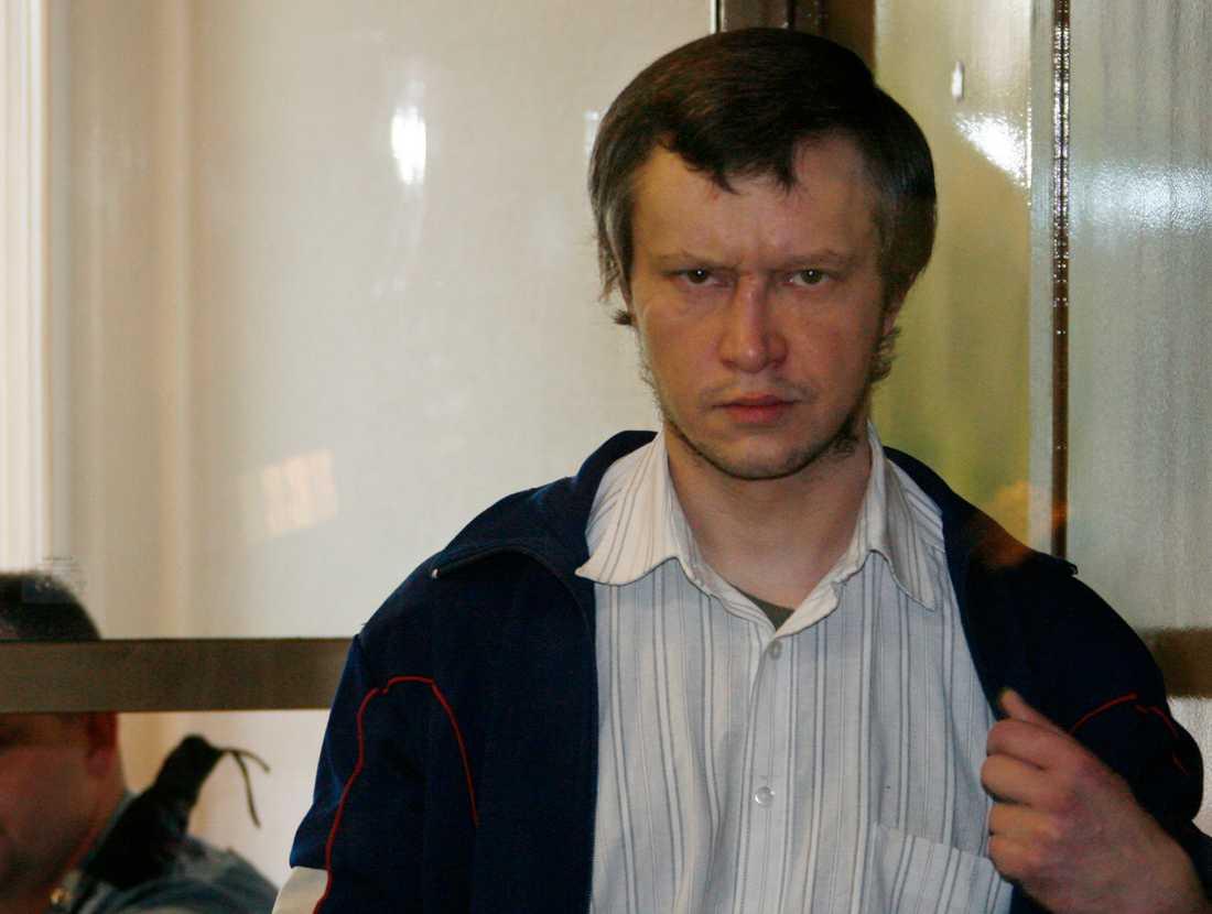Aleksandr Pitjusjkin var 33 år gammal när han 2007 dömdes till livstids fängelse för 48 mord. Arkivbild.