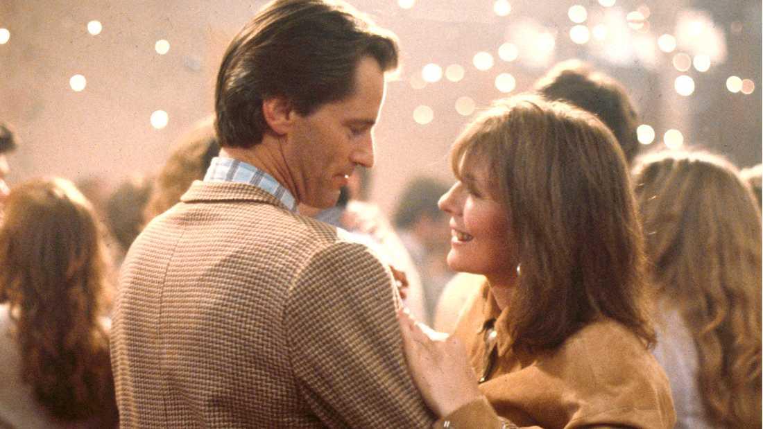 "Sam Shepard och Diane Keaton i ""Baby boom""."