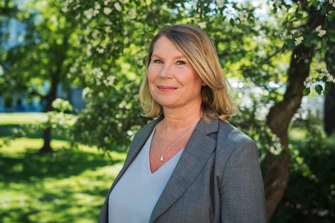 Charlotta Friborg, ansvarig utgivare för riksnyheterna på SVT, känner inte igen sig i kritiken om att medierna varit för följsamma under coronapandemin. Arkivbild