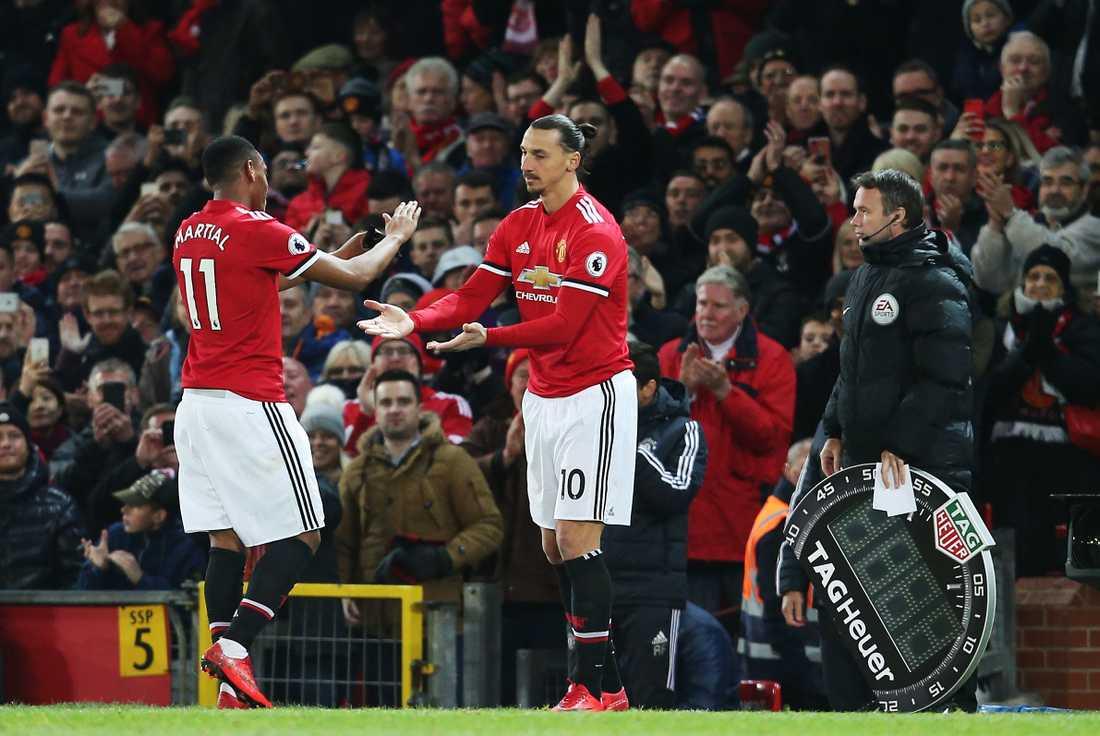Zlatan gör comeback efter sin skada.