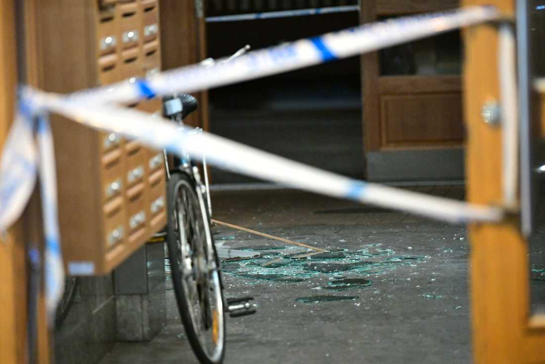 En detonation inträffade i Malmö på söndagskvällen.
