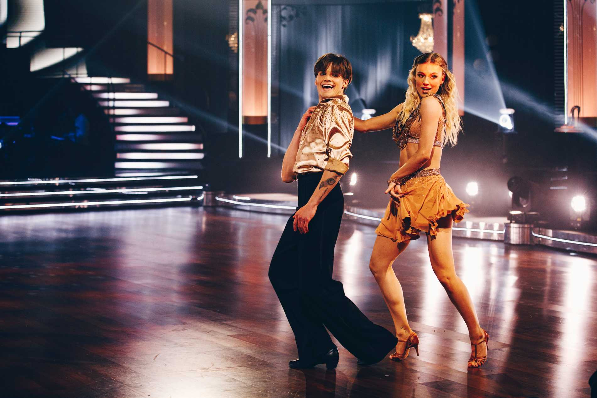 "Filip Lamprecht i ""Let's dance""."