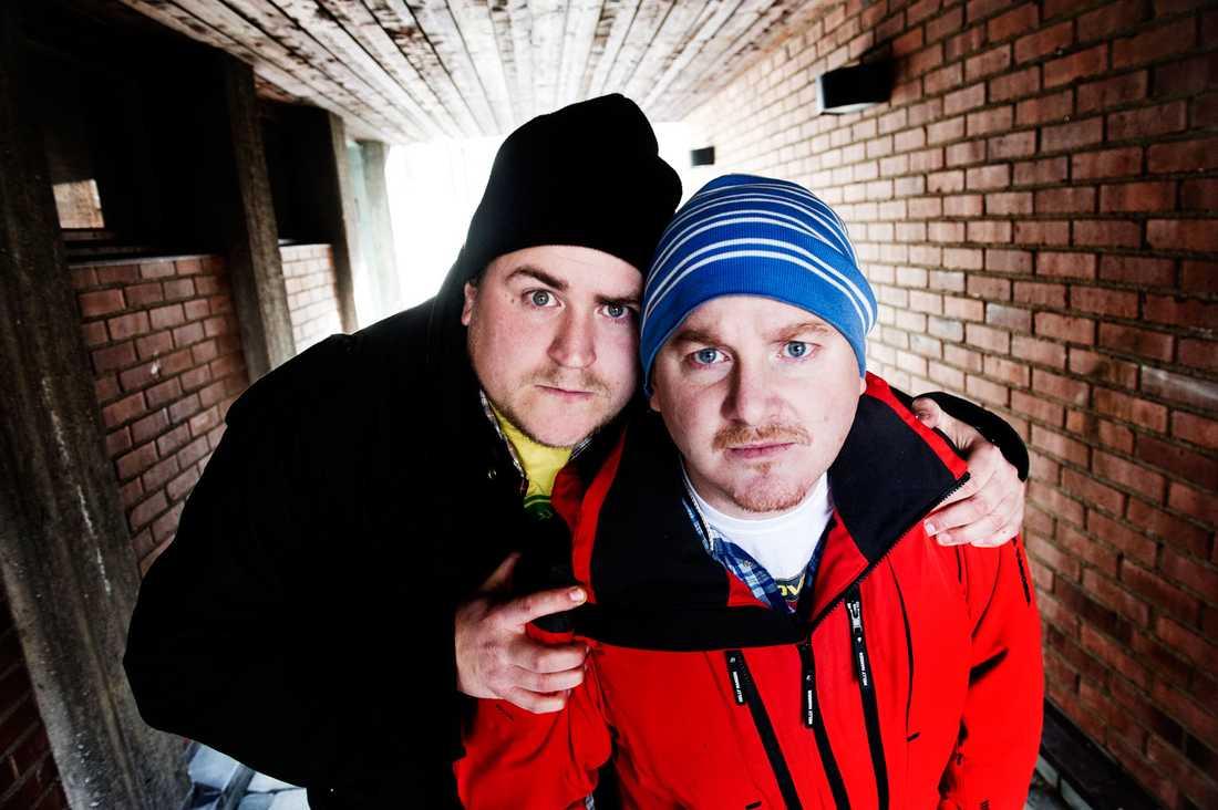 Erik och Mackan.