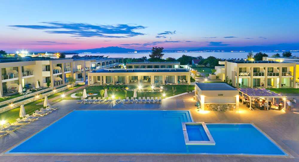 Alea Hotel & Suites på Thassos