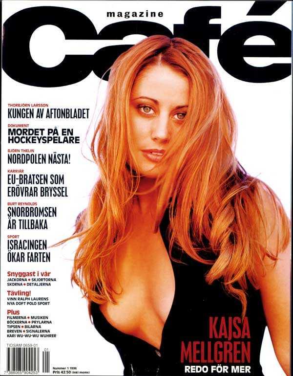 """Kajsa Mellgren Kajsa har ibland kallats """"känd för att vara känd"""", men kanske är """"mångsysslare"""" ett bättre epitet? Hon var lättsam programledare på Ztv, där hon inspirerade tonårstjejer att bära skyhöga Buffalo-skor, hon frontade H&M-kampanjen """"Kajsa Cool collection"""" där låten """"Angel Eye"""" nådde hitlistorna och hon dansade i videon till Culture Beats eurodisco-hit """"Mr Vain"""". Och i en tid när alla popgrupper skulle ha dubbel-x i namnet frontade Kajsa Mellgren gruppen Flexx."""