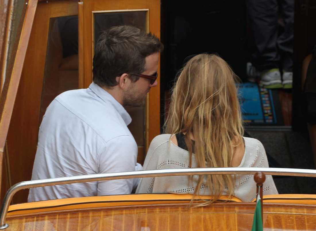 Paret i Venedig tidigare i september.