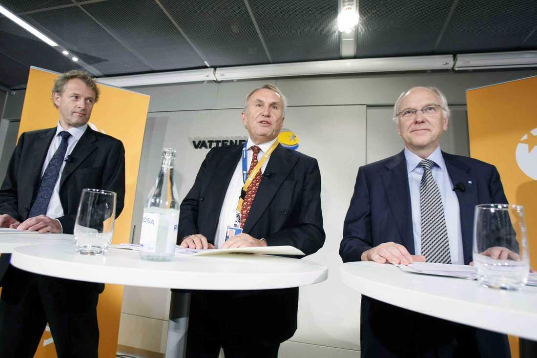 Vattenfalls styrelseordförande Lars Westerberg får nu lämna sin post.