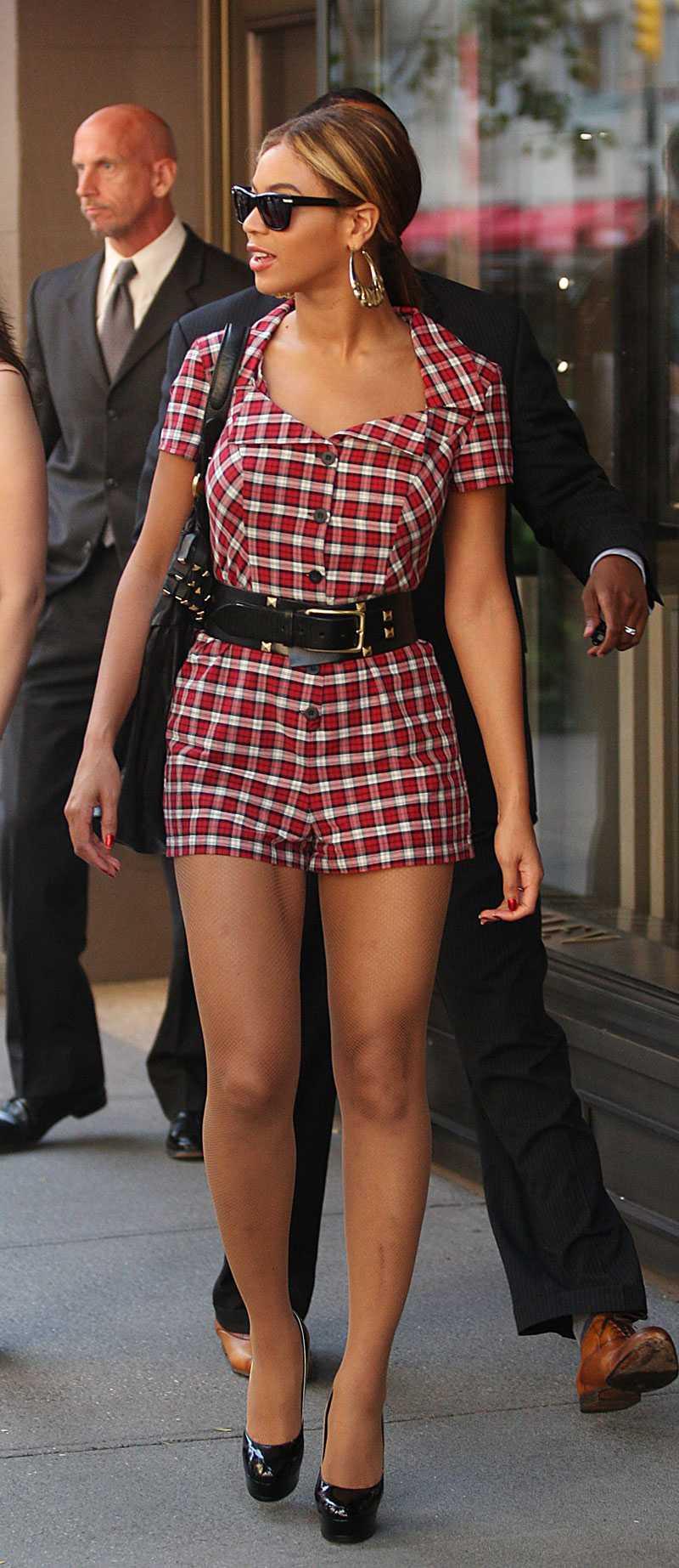 Beyoncé är chicare än chicast, om man nu kan skriva så, när hon lunchar med maken Jay-Z i New York.