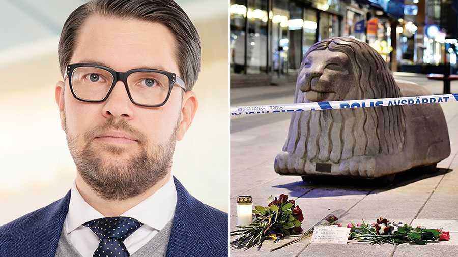 Fyra år efter terrorattacken på Drottninggatan har Sverige tiotusentals individer som vistas illegalt i landet. Den politiska viljan att ta itu med denna typ av potentiella säkerhetshot har inte funnits hos regeringen. Vi har förslagen, skriver Jimmie Åkesson.