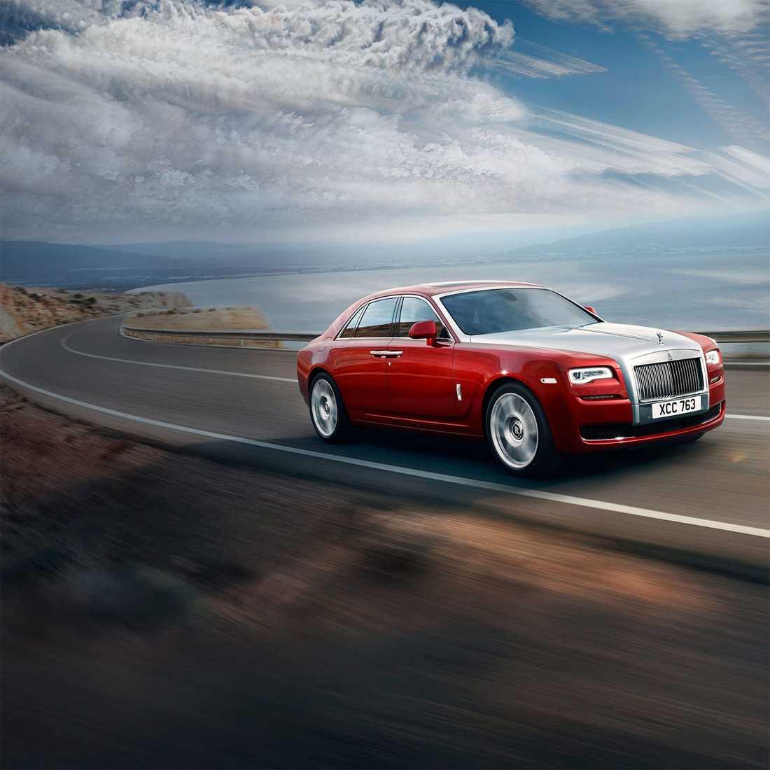 En bil av modellen Ghost återkallade Rolls Royce.