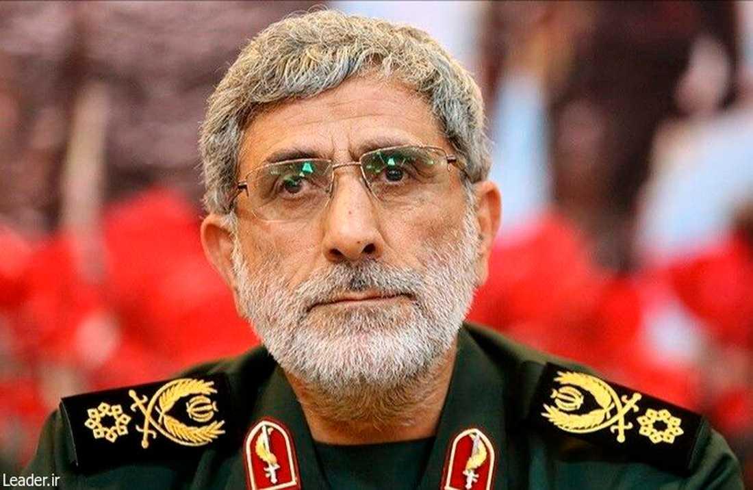 Esmail Qaani, ny befälhavaren för det iranska Revolutionsgardets specialstyrka Quds.