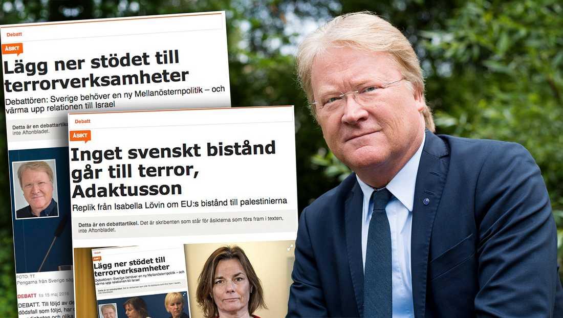 Det största hindret mot fred och frihet i regionen är uppviglingen till våld, stödet till terrorismen, den djupa antisemitismen och hatet mot Israel. Sverige måste ha en biståndspolitik som präglas av den insikten, skriver debattören.