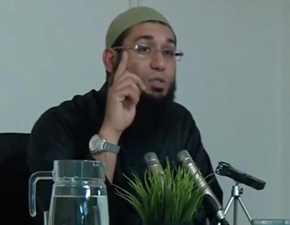 Föreläsaren Muadh Zamzam