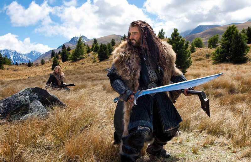Thorin är den tuffe ledaren för skaran med dvärgar.