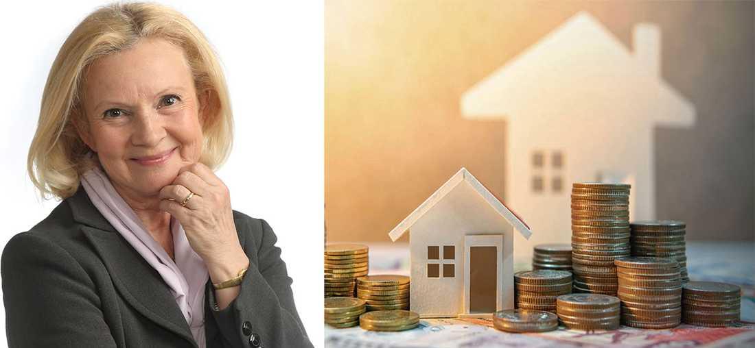 Ylva Yngveson råd är att jämföra olika banker – även om du bor i en liten ort och kanske känner lojalitet mot din bank.