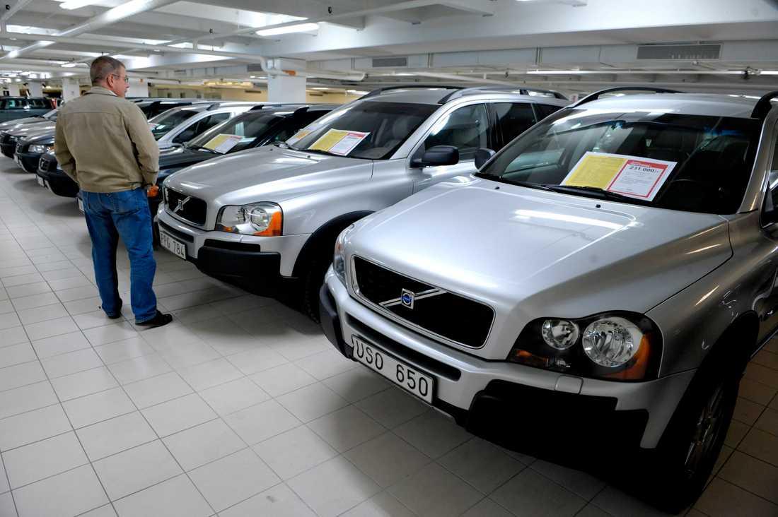 Bäst chans på andrahandsmarknaden har bilar med ljusgrå lack. Arkivbild.