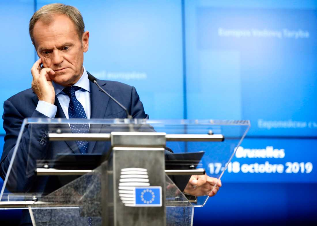 EU:s rådsordförande Donald Tusk.