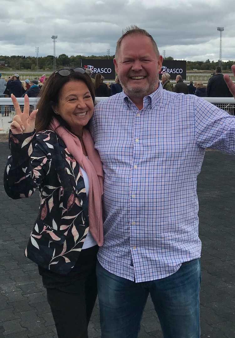 Gunilla Welander och Dennis Olofsson