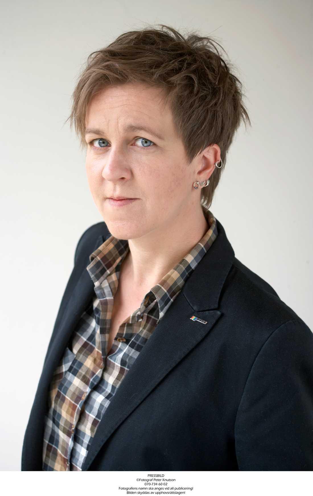 RFSL:s förbundsordförande Ulrika Westerlund.