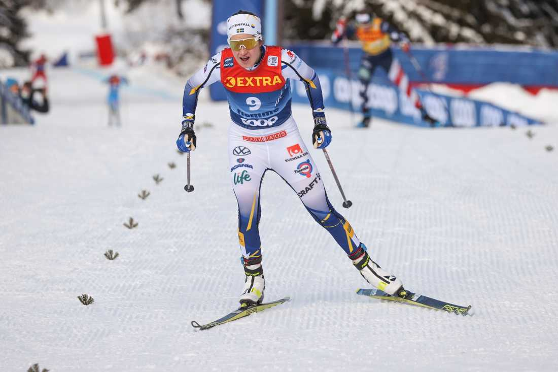 Ebba Andersson har VM i sikte – men innan dess väntar världscupen i Falun och SM i Borås. Arkivbild.