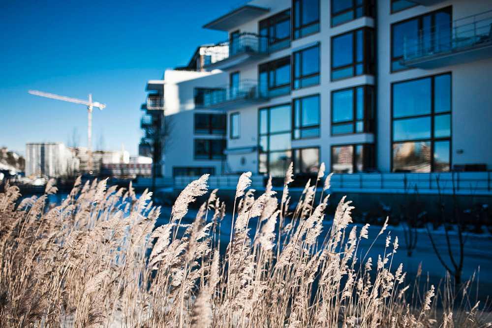 Hushållens syn på bostadsmarknaden blir mer positiv, men inte i Stockholm. Arkivbild.