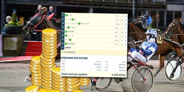 """Systemet """"Sportbladet Insider"""" drog in 1,1 miljoner kronor och betalade 84 000 kronor per andel i mitten av april."""
