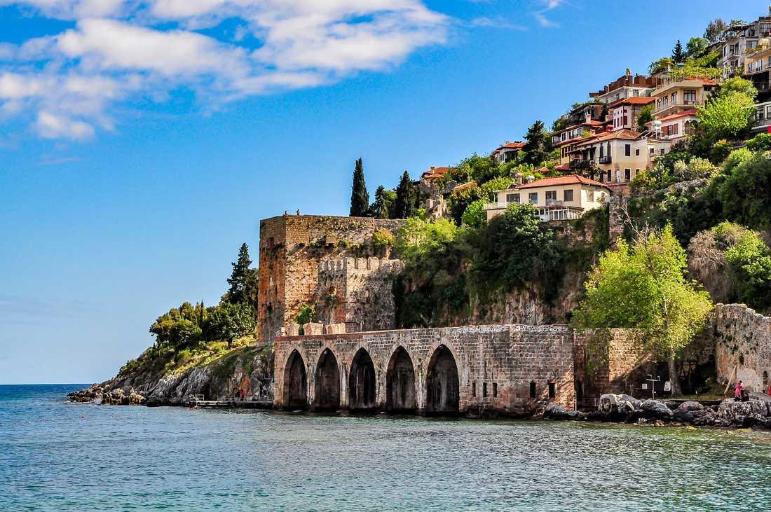 Alanya i Turkiet är återigen ett populärt resmål.